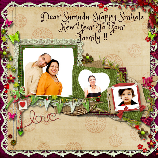 photo upload sinhala new year card personalised greeting cards in
