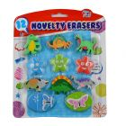 Novelty Erasers - 12 nos