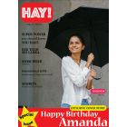 HAY!! Magazine Birthday Card