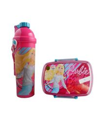 Disney Barbi Lunch Box & Water Bottle