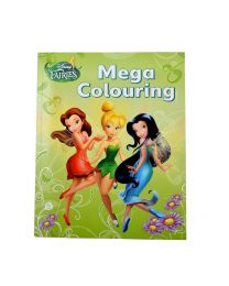 Disney Fairies Mega Colouring Book