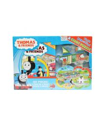 Thomas the Train Story Book & Giant Puzzle