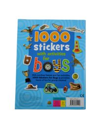 1000 Stickers With Activities for Boys