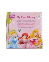 Disney My 1st Library - 6 Books with Puzzle