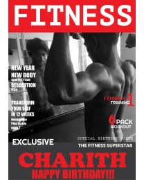 Totally Fitness Magazine Birthday Card