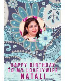 To my lovely WIFE on BIRTHDAY