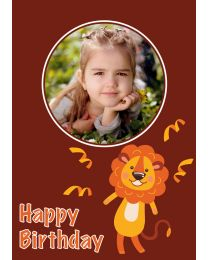 Happy Birthday from Lion