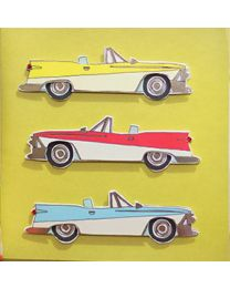 Classic Cars Happy Birthday