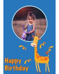 Happy Birthday from Giraffe
