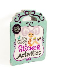My Girly Sticker Activities - more than 1000 stickers
