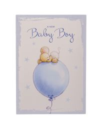 Greeting Card New Born Baby Boy