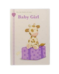 New Born Baby Girl Card