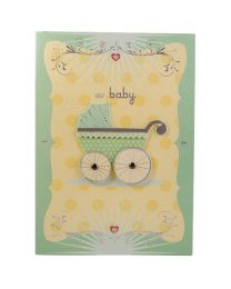 Designer New Born Baby Card