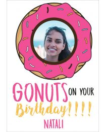 Gonuts on birthday