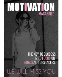 Motivation Magazine Cover Farewell