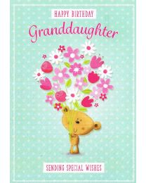 Birthday Card Granddaugher