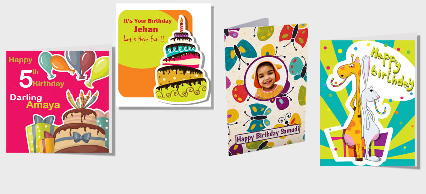 Customized Birthday cards in Sri Lanka